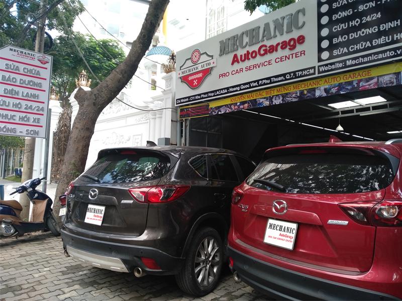 Sửa chữa ô tô Mazda chuyên nghiệp tại TPHCM
