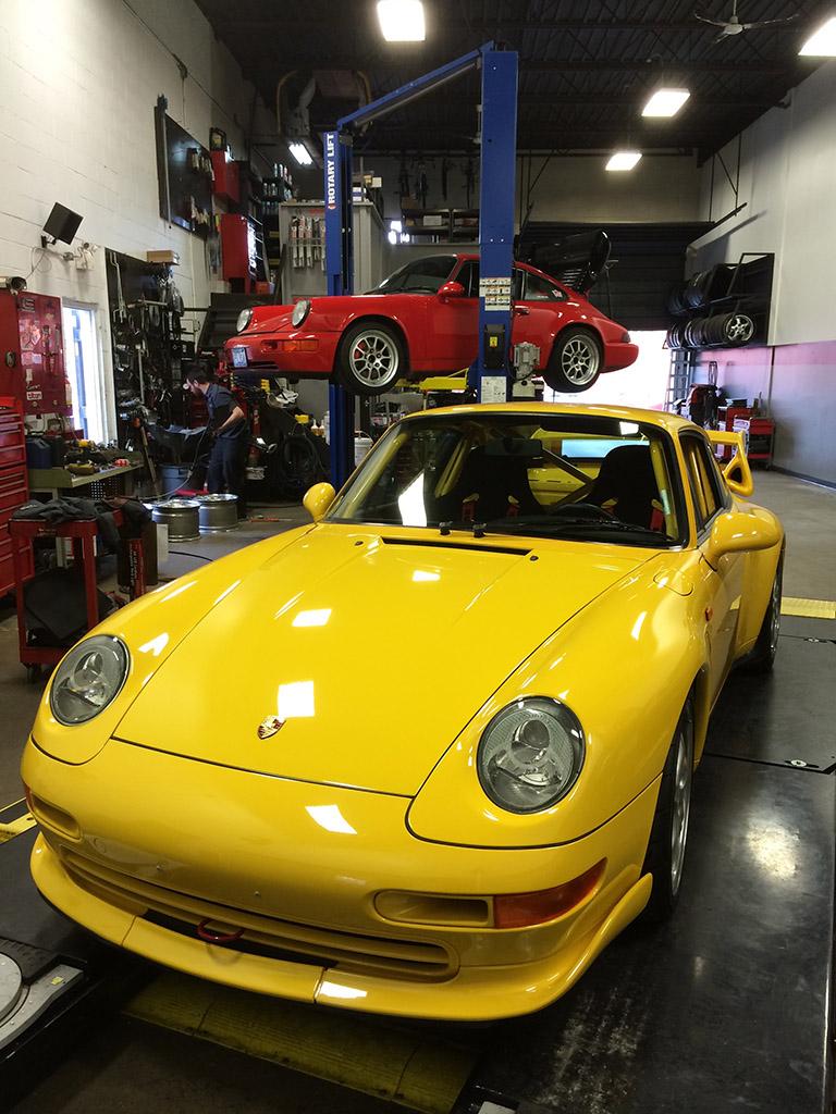 Garage chuyên bảo dưỡng xe Porsche uy tín tại quận 7