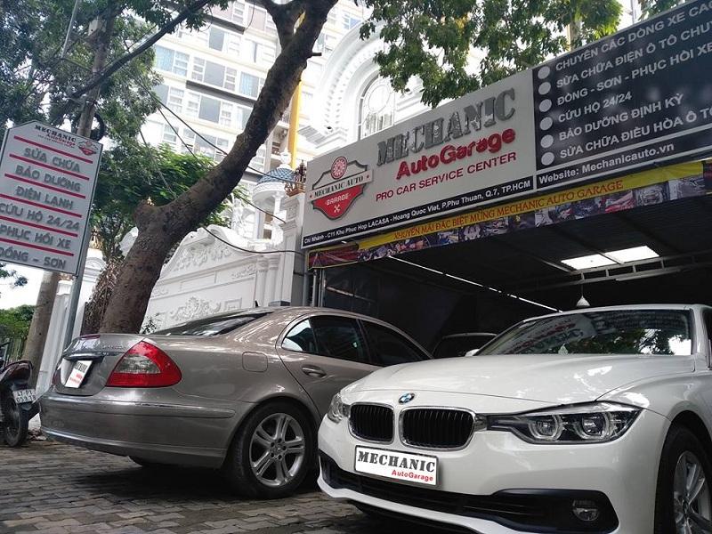 Gara bảo dưỡng BMW chuyên nghiệp tại TPHCM