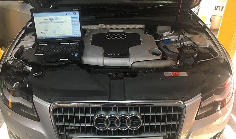 Sửa chữa điện ô tô Audi chuyên sâu tại TPHCM