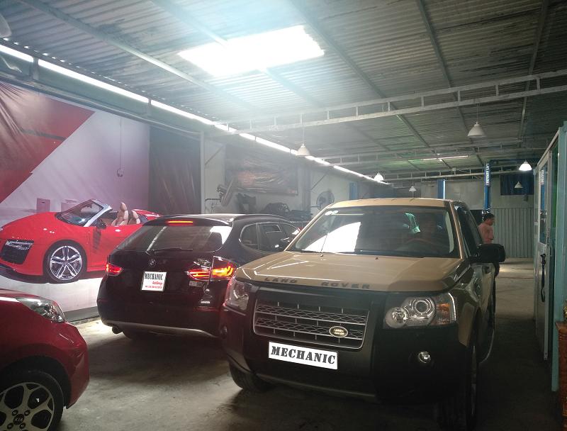 Gara sửa chữa Range Rover uy tín tại TPHCM