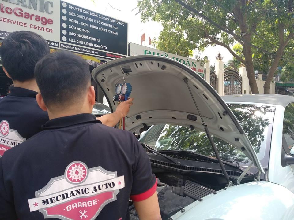 Quy trình sửa chữa điều hòa ô tô chuyên nghiệp