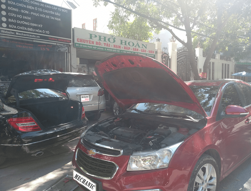 Sửa chữa ô tô Chevrolet chuyên nghiệp tại TPHCM