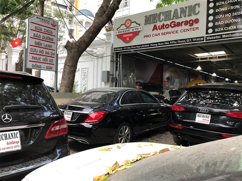 Garage chuyên sửa chữa Audi tại quận 7 TP.HCM