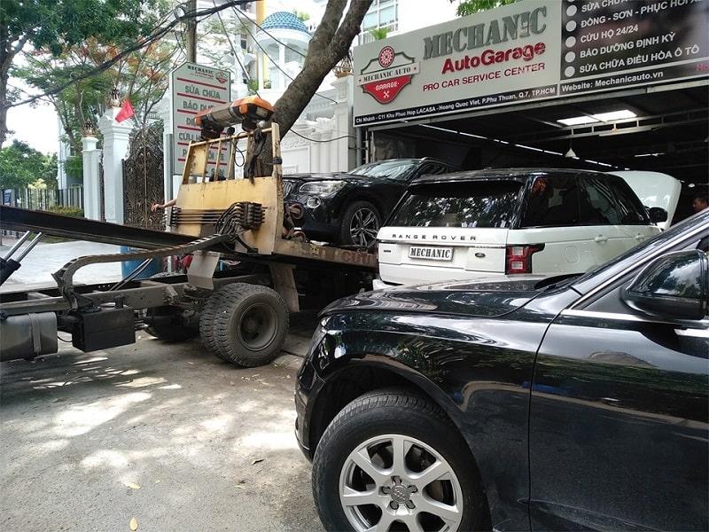Gara sửa chữa ô tô chuyên nghiệp tại TPHCM