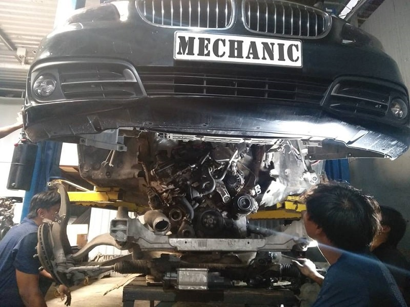 Quy trình chuẩn sửa chữa động cơ ô tô