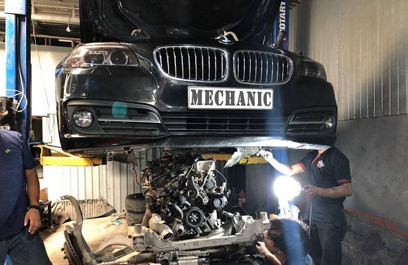 Sửa chữa và đại tu động cơ xe BMW uy tín TPHCM