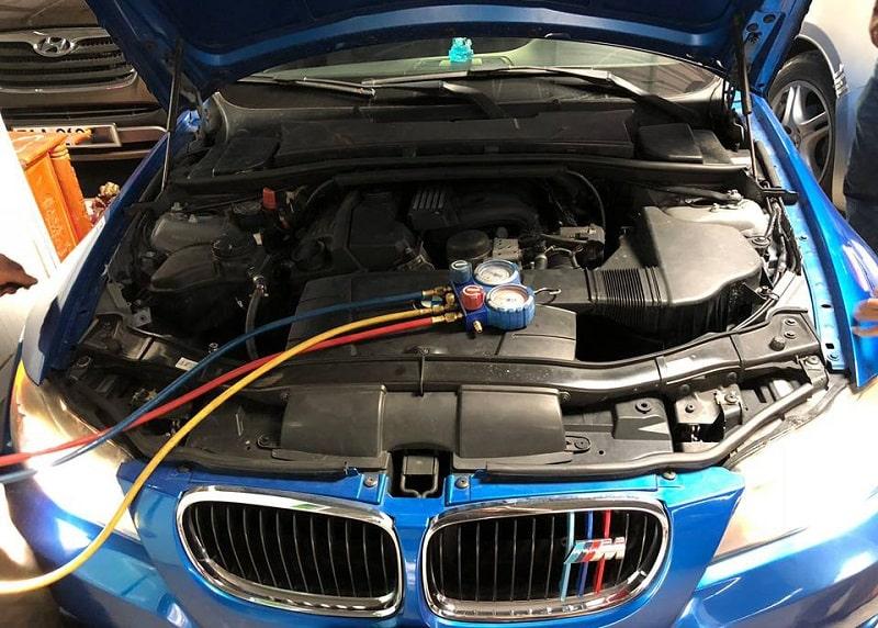 Quy trình sửa chữa điều hòa BMW chuyên nghiệp