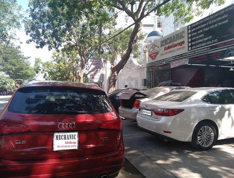 Garage chuyên sửa chữa Audi tại TPHCM