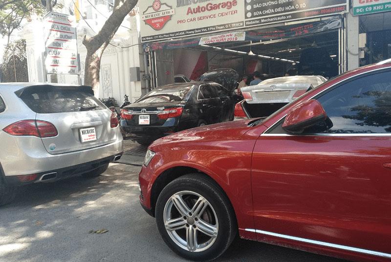 Gara chuyên sửa chữa ô tô tới từ Đức