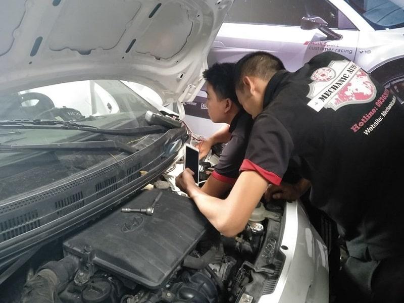 Ước tính chi phí cho một lần bảo dưỡng ô tô
