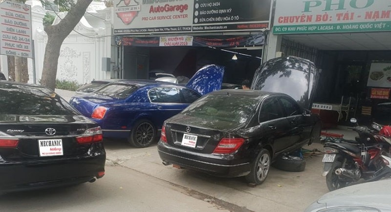 Sửa chữa điều hòa ô tô Camry uy tín tại TP.HCM