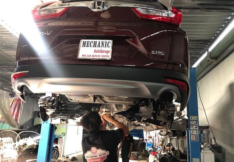 Sửa chữa khung gầm ô tô uy tín tại TPHCM
