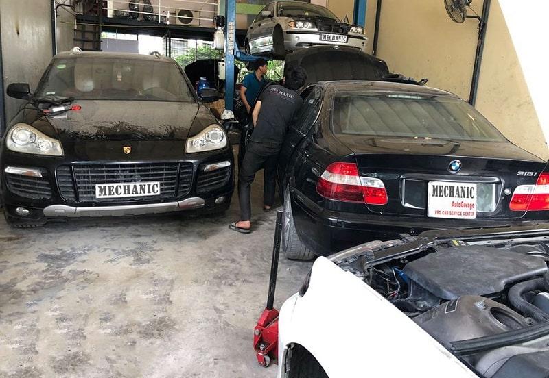 Khám phá garge chuyên sửa BMW ở TP.HCM