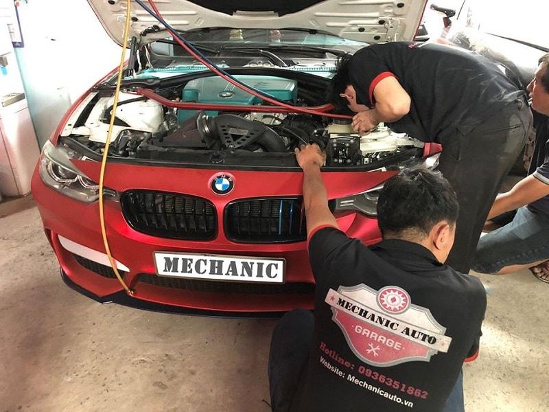Sửa chữa hệ thống điện lạnh ô tô BMW