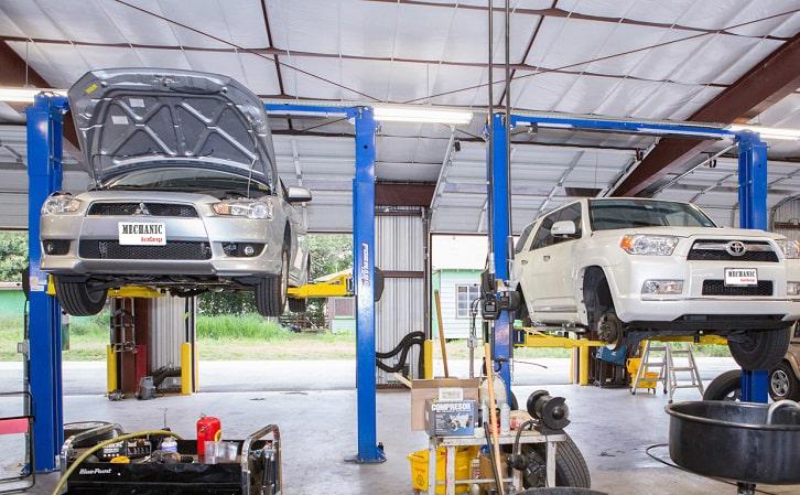 Garage sửa chữa ô tô Mitsubishi chuyên nghiệp tại TP.HCM