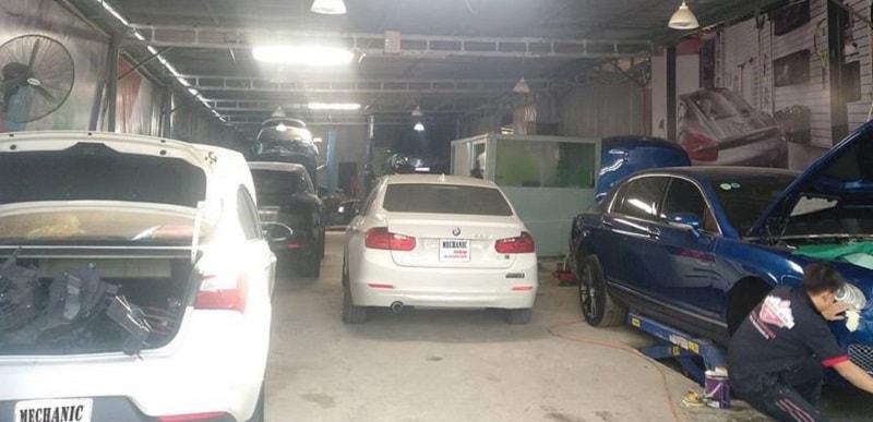 Sửa chữa xe ô tô Nissan uy tín tại TPHCM