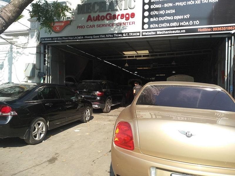 Garage sửa xe ô tô Ssangyong chuyên nghiệp tại TPHCM