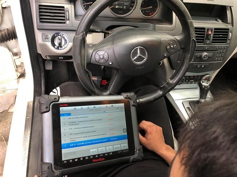 Chuyên sửa chữa điện ô tô Mercedes tại TPHCM