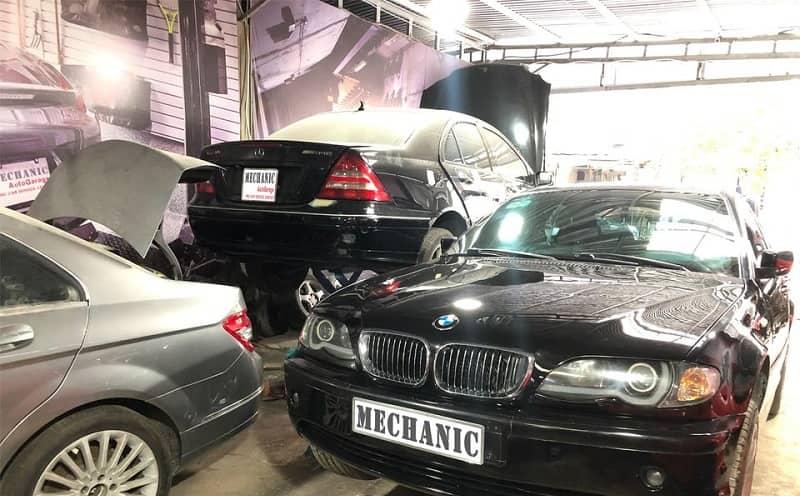 Lỗi hao nước hệ thống động cơ xe ô tô BMW