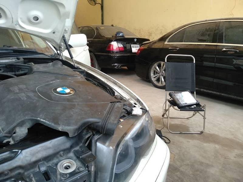Lỗi hệ thống đánh lửa trên xe ô tô BMW