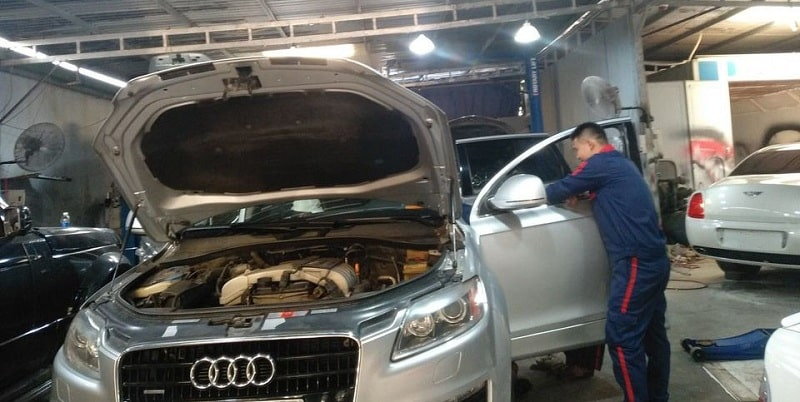 Lỗi thường gặp trên xe Audi ở hệ thống làm mát