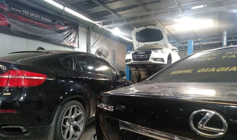 Lỗi ở hệ thống gầm ô tô Audi