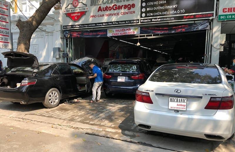 Quy trình tiếp nhận sửa chữa ô tô Lexus 7 bước