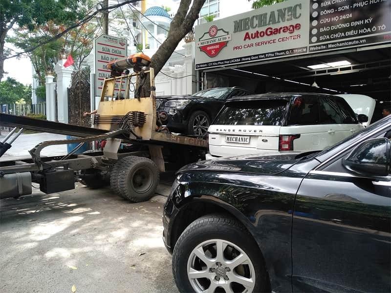 Sửa chữa tổng quát hệ thống gầm Land Rover