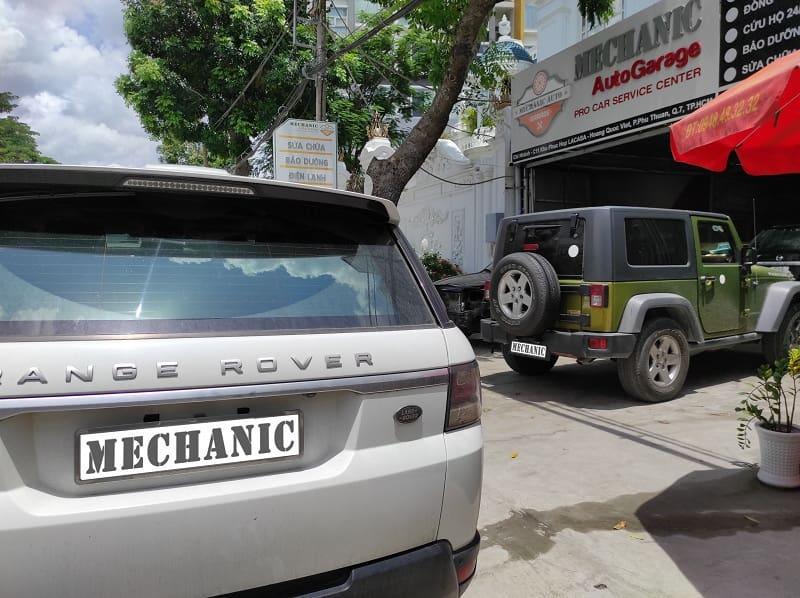 Gara sửa chữa ô tô uy tín tại TPHCM