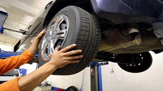 Vấn đề về lốp xe ô tô khi sử dụng lâu ngày